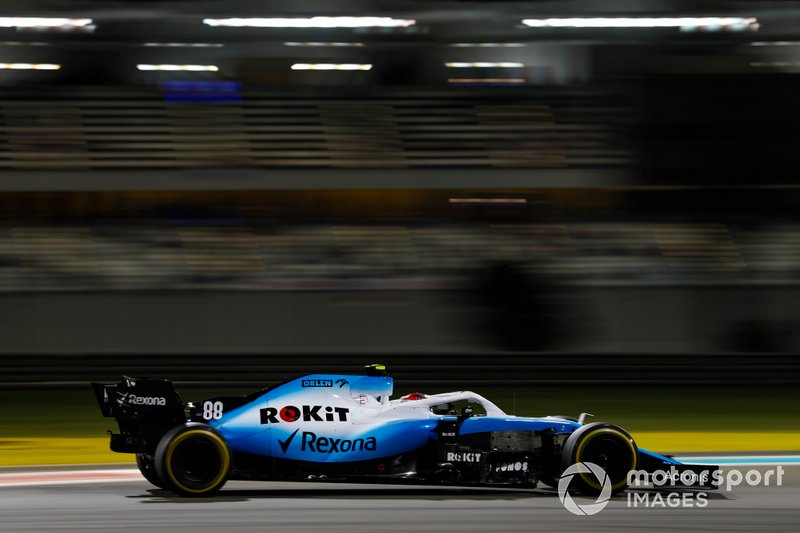 Robert Kubica, Williams FW42 - Trening 2