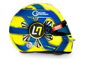 Helm von Lando Norris, McLaren, für die Formel-1-Saison 2020