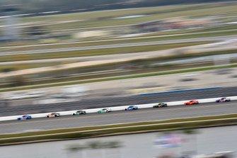 Jeb Burton, JR Motorsports, Chevrolet Camaro LS Tractor and Noah Gragson, JR Motorsports, Chevrolet Camaro