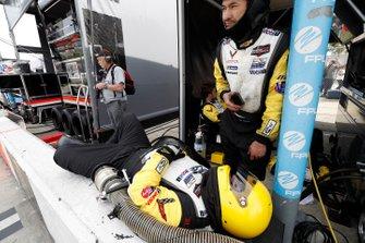 Corvette Racing crew members