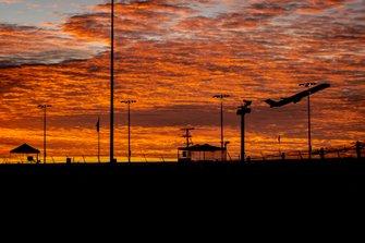 Sonnenaufgang am Daytona International Speedway