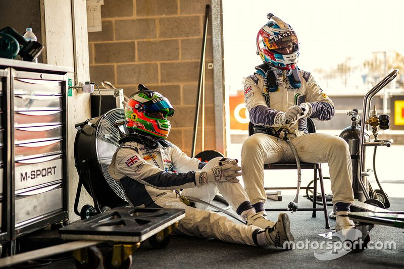Sebastian Morris, Jordan Pepper, Bentley Team M-Sport