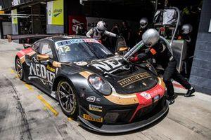 Дэвид Колверт-Джонс, Ромен Дюма и Джексон Эванс, NED Racing Team, Porsche GT3 R (№12)