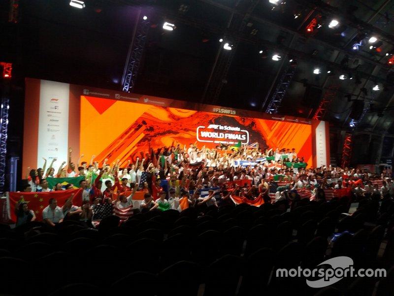 F1 in Schools tem fase final em Abu Dhabi