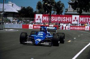 Jacques Laffite, Ligier Renault JS25, al GP d'Australia del 1985