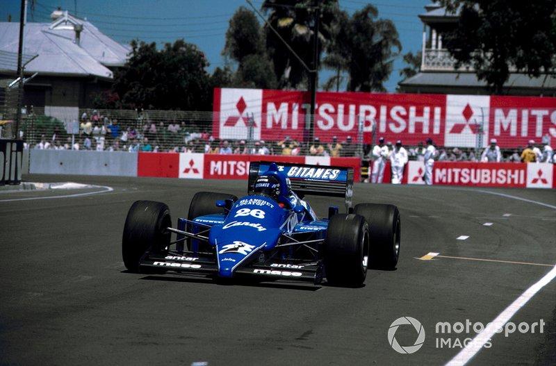8-10. 19 позиций – Жак Лаффит, Ligier-Renault: с 20-го на 2-е, Гран При Австралии 1985 года