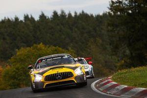 #152 Mercedes-AMG GT4: Mustafa Mehmet Kaya, Stephan Rösler, Gabriele Piana