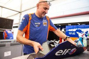 Red Bull KTM Tech 3 mechanic at work