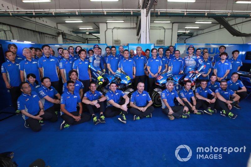 Joan Mir, Team Suzuki MotoGP, Alex Rins, Team Suzuki MotoGP, Suzuki team, Presentazione