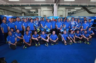 Joan Mir, Team Suzuki MotoGP, Alex Rins, Team Suzuki MotoGP, Suzuki team launch