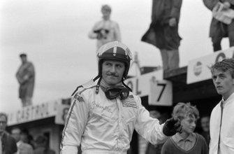 Graham Hill, al GP d'Olanda del 1968