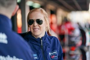 Alice Powell, Rookie Test Driver for Envision Virgin Racing