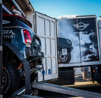 2020 Dakar Scrutineering at Le Castellet, France