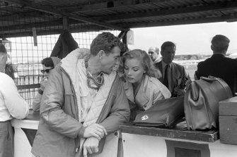 Carroll Shelby with actress, Jan Harrison