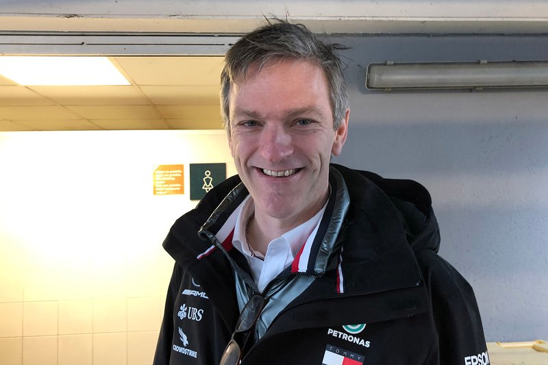 James Allison, director técnico de Mercedes AMG