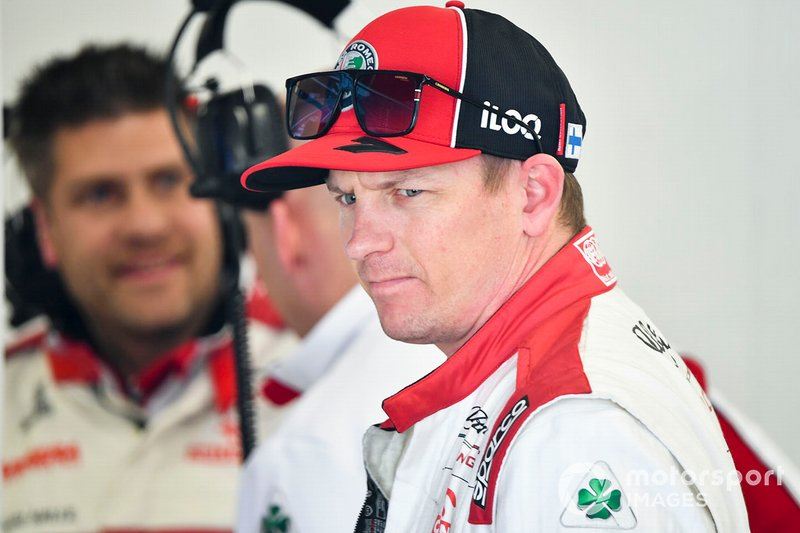 Kimi Raikkonen, Alfa Romeo nel garage
