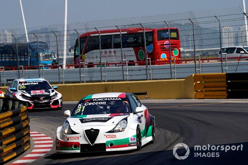 Кевин Чеккон, Team Mulsanne, Alfa Romeo Giulietta Veloce TCR