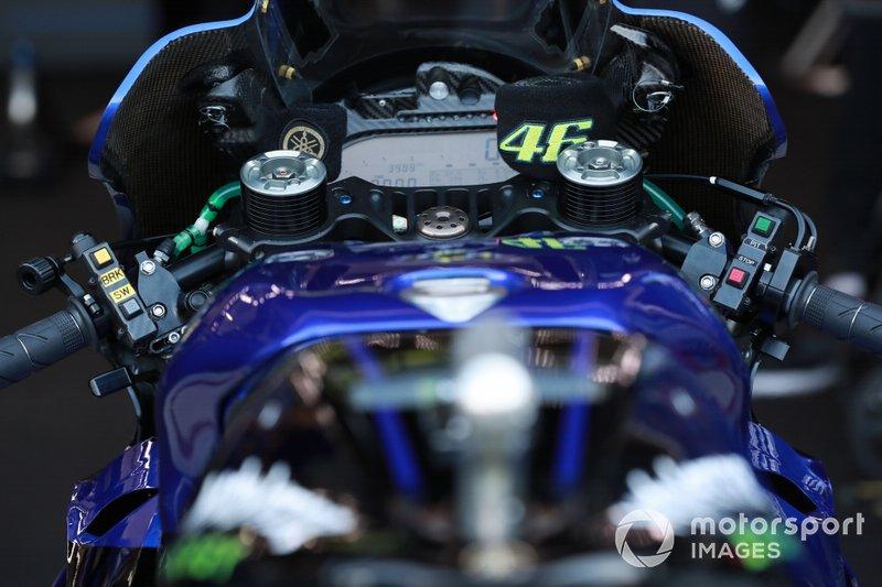 Moto di Valentino Rossi, Yamaha Factory Racing