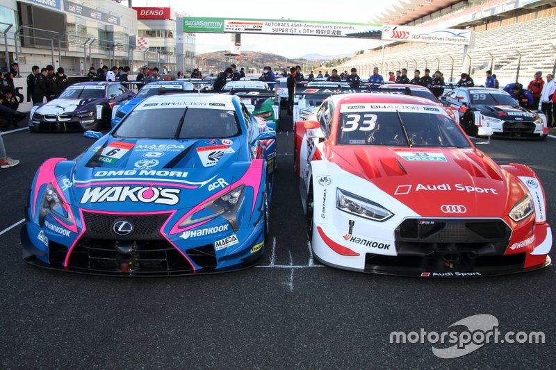 Lexus Team LeMans Wako's Lexus LC500, Rene Rast, Audi Sport Team Rosberg Audi RS5 DTM
