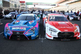 #6 WAKO'S 4CR LC500, #33 Audi Sport RS 5 DTM