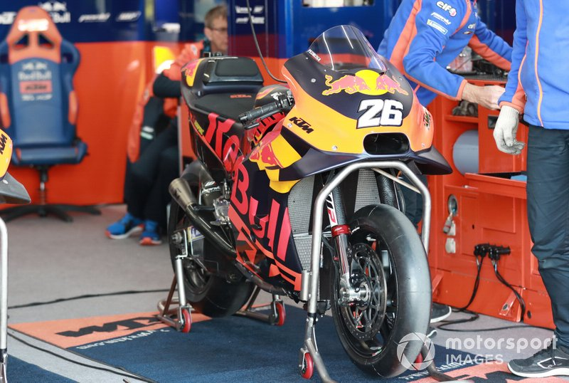 Moto de Dani Pedrosa, Red Bull KTM Factory Racing