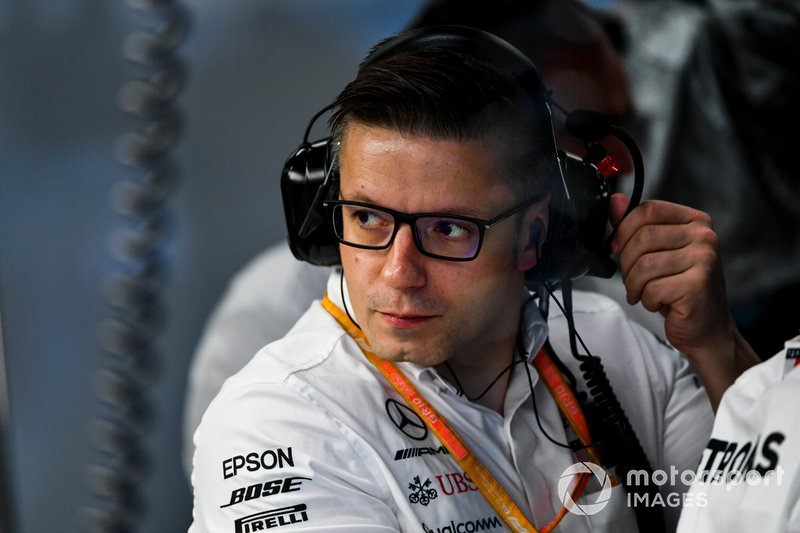 Peter Bonnington, Race Engineer, Mercedes AMG