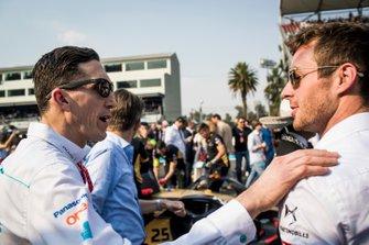 James Barclay, Team Director, Panasonic Jaguar Racing on the grid