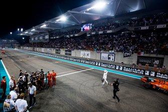 Il vincitore della gara Lewis Hamilton, Mercedes AMG F1