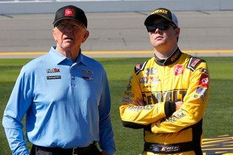Joe Gibbs and Erik Jones, Joe Gibbs Racing, Toyota Camry DeWalt