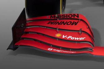 Ferrari SF1000 front wing detail