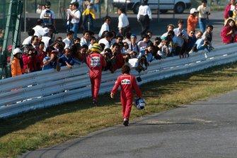 Alain Prost, Ferrari, et Ayrton Senna, McLaren