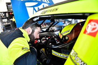 Brandon Jones, Joe Gibbs Racing, Toyota Supra Menards Jeld-Wen