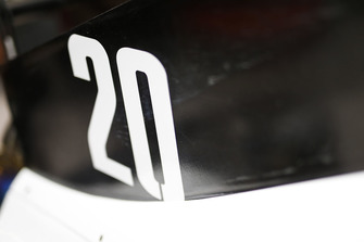 Nummer van Kevin Magnussen, Haas F1 Team