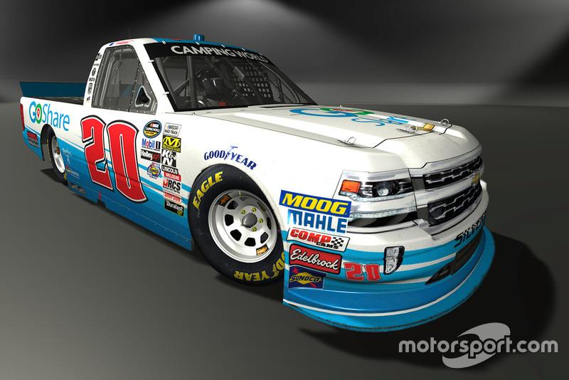Tanner Thorson, Young's Motorsports, Chevrolet Silverado