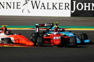 Julien Falchero, Arden International Devlin DeFrancesco, MP Motorsport e Juan Manuel Correa, Jenzer Motorsport