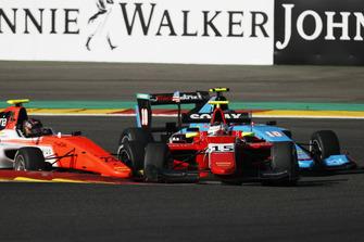 Julien Falchero, Arden International Devlin DeFrancesco, MP Motorsport et Juan Manuel Correa, Jenzer Motorsport