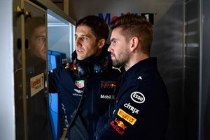 Red Bull Racing ExxonMobil engineers