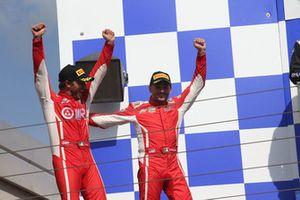 Podio GT3 Gara 2: i vincitori Fisichella-Gai, Scuderia Baldini 27