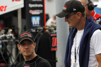 Sebastien Bourdais, Dale Coyne Racing with Vasser-Sullivan Honda en vader Patrick