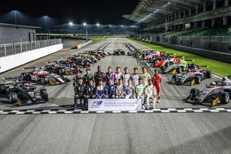 Foto grup pembalap F3 Asia 2018