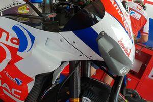 Danilo Petrucci, Pramac Racing detalle de carenado