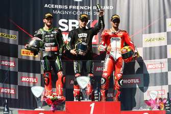 Tom Sykes, Kawasaki Racing, Jonathan Rea, Kawasaki Racing, Xavi Fores, Barni Racing Team