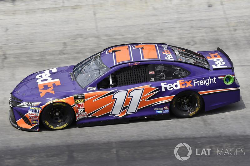 7. Denny Hamlin, Joe Gibbs Racing, Toyota Camry FedEx Freight