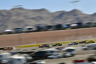 Brad Keselowski, Team Penske, Ford Fusion Autotrader and Kurt Busch, Stewart-Haas Racing, Ford Fusion Haas Automation