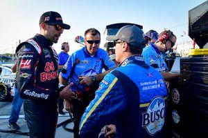 Aric Almirola, Stewart-Haas Racing, Ford Fusion, Kevin Harvick, Stewart-Haas Racing, Ford Fusion, mit Rodney Childers