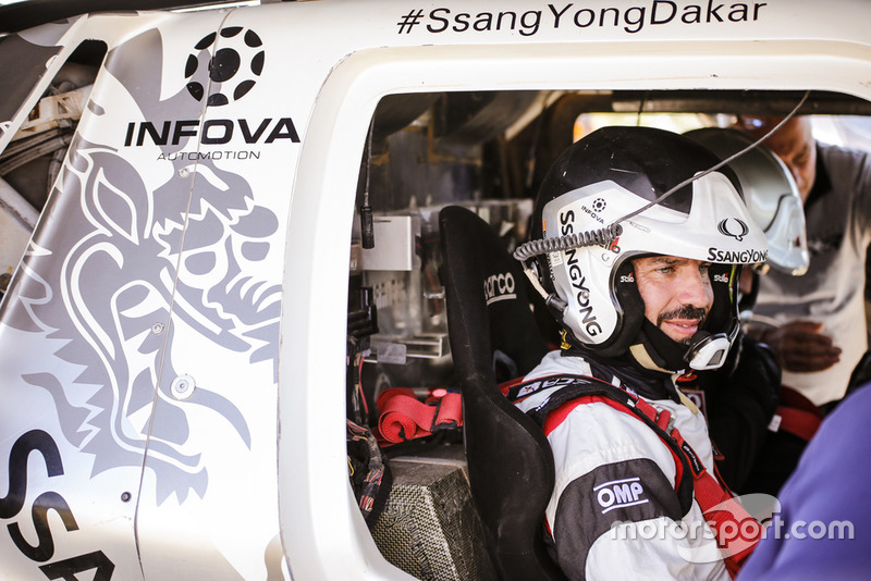 Diego Vallejo, SsangYong DKR