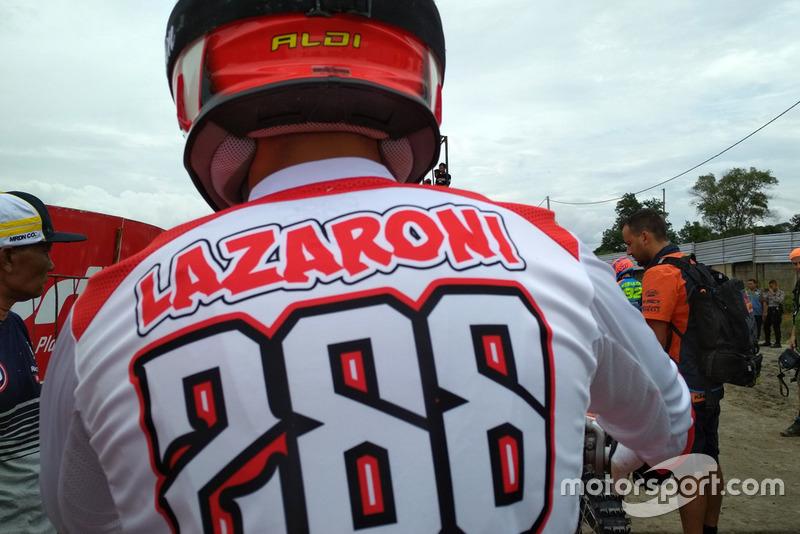 Aldi Lazaroni, Team Merah Putih