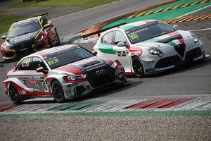 Giovanni Altoè, Pit Lane Competizioni Audi RS3 LMS TCR, Fabrizio Giovanardi, Team Mulsanne Alfa Romeo Giulietta TCR