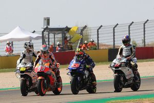 Марк Маркес, Repsol Honda Team, и Маверик Виньялес, Yamaha Factory Racing