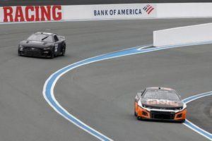 Ty Dillon, GMS Racing Chevrolet, Joey Logano, Team Penske Ford